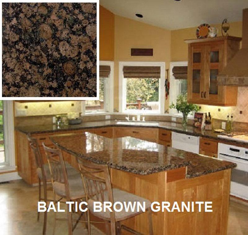 Baltic Brown Granite | Tresko Monument | Washington Stone